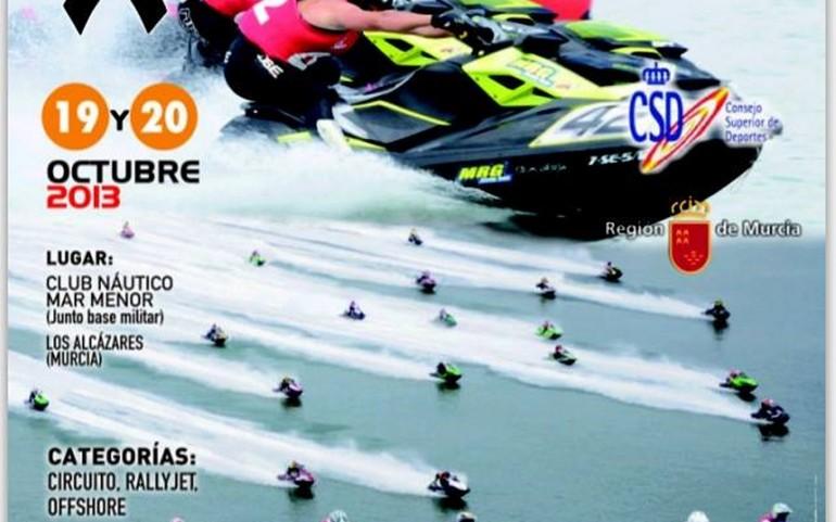Este fin de semana, Copa del Rey y 5ª prueba del Campeonato de España de motos de agua en Los Alcázares