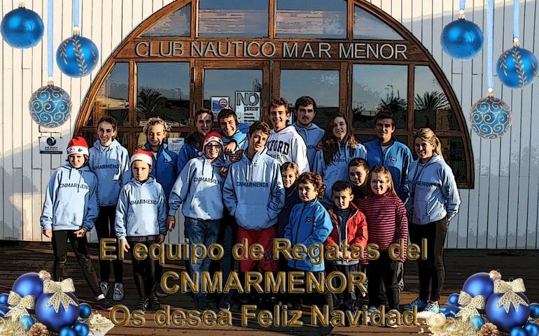 El Club Náutico Mar Menor Les Desea Feliz Navidad