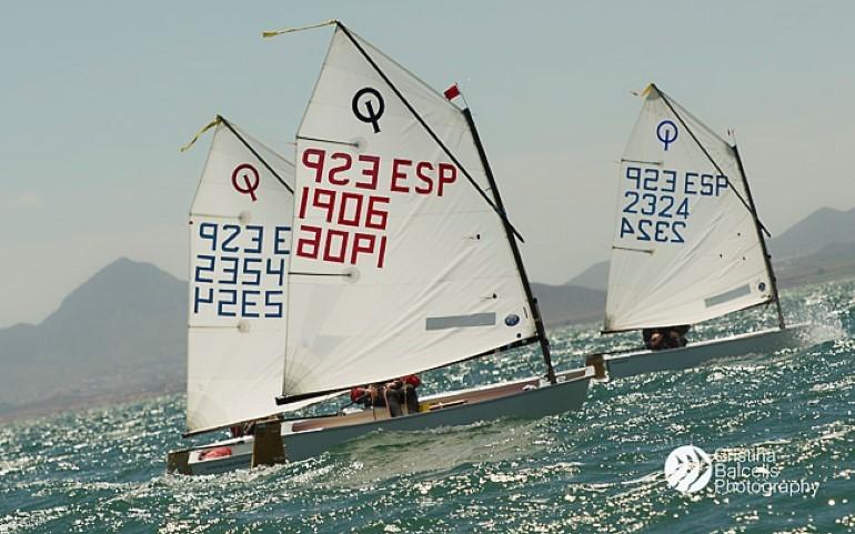 Copa España Optimist. Fotos Cristina Balcells
