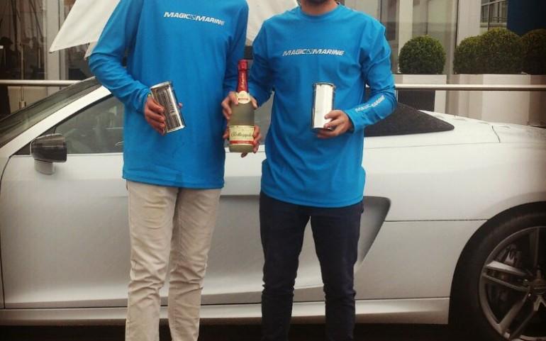 Jose Manuel Ruiz, Subcampeón Regata Kieler-woche en clase 420