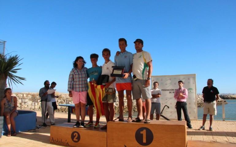 Rafa de la Hoz, Campeón Masculino Campeonato de España Infantil