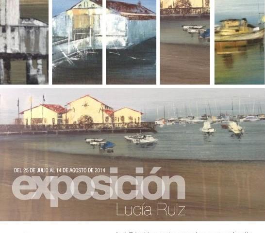 Inauguración Exposición de Pintura de Lucía Ruiz y Sardinada