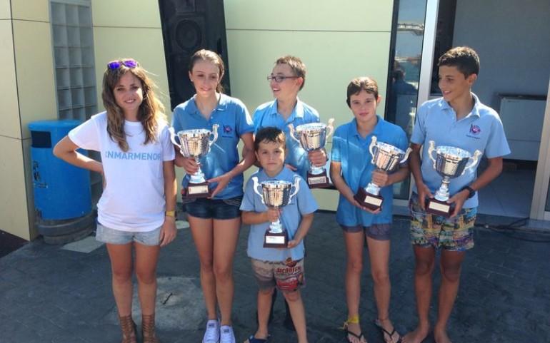 Gran éxito del equipo de Optimist en el II Trofeo Virgen del Carmen