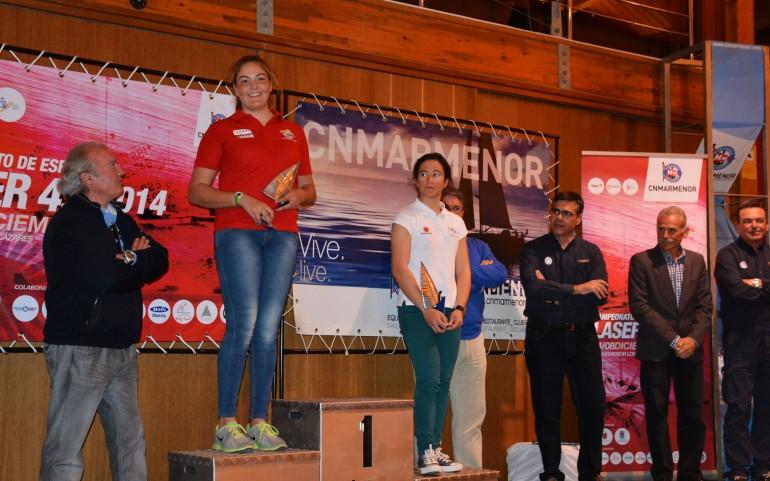 LUNES 8 ENTREGA DE TROFEOS CAMPEONATO LASER 2014