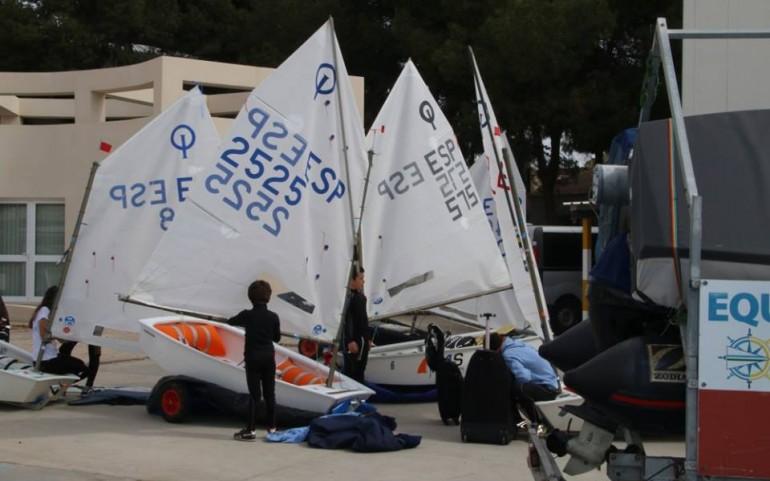 Regata Mar Menor Optimist Race. Fotos Pep Portas