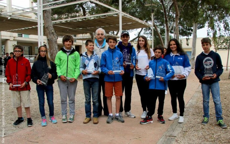 Regata Mar Menor Optimist Race. Fotos Pep Portas