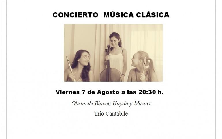 Concierto de Música Clásica Viernes 7 de Agosto