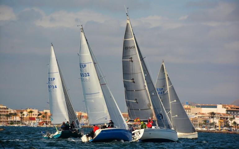 Última prueba del XXII Trofeo Carabela de Plata con el G.P. Los Alcázares