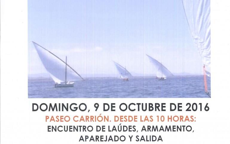 """Regata """"EL CALDERO"""" Vela Latina 33 Palmos Club Náutico Mar Menor"""