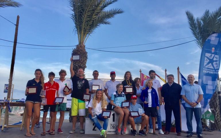 El Mar Menor se luce con la organización de cuatro Campeonatos de España en el Surfari