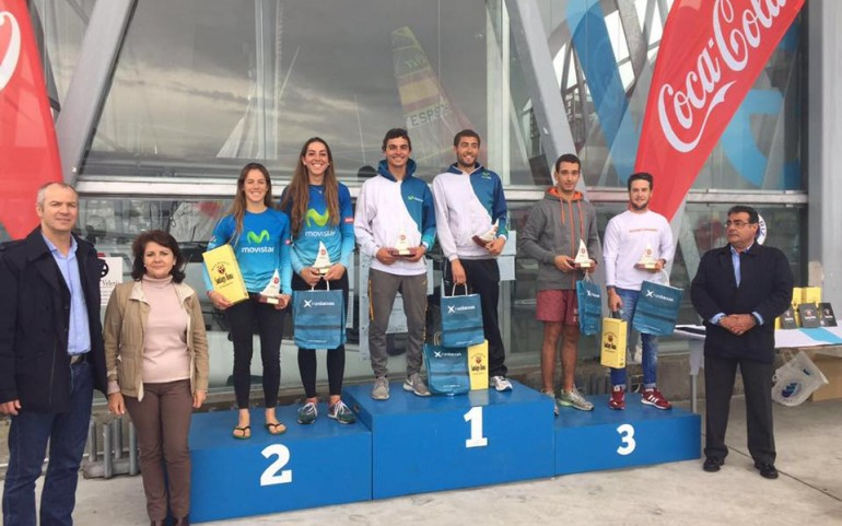 Jose Manuel Ruiz, tercero en el Campeonato de España 470