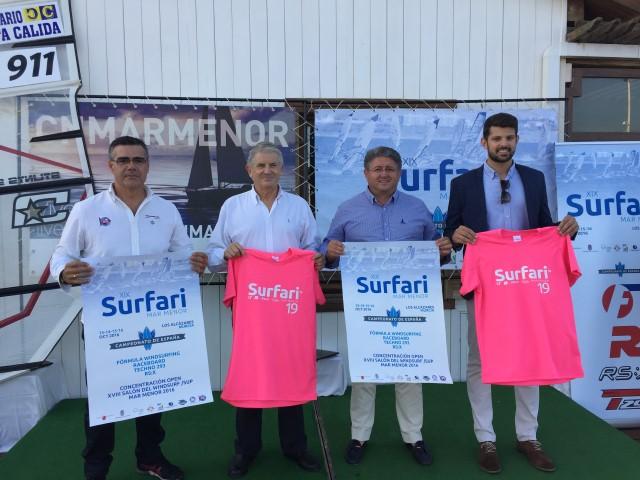 La élite del windsurf nacional llega al Mar Menor  en la XIX edición del Surfari.