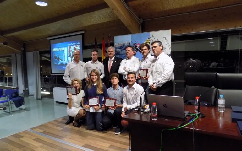 Gran homenaje de la Federación Murciana de Vela a nuestros deportistas