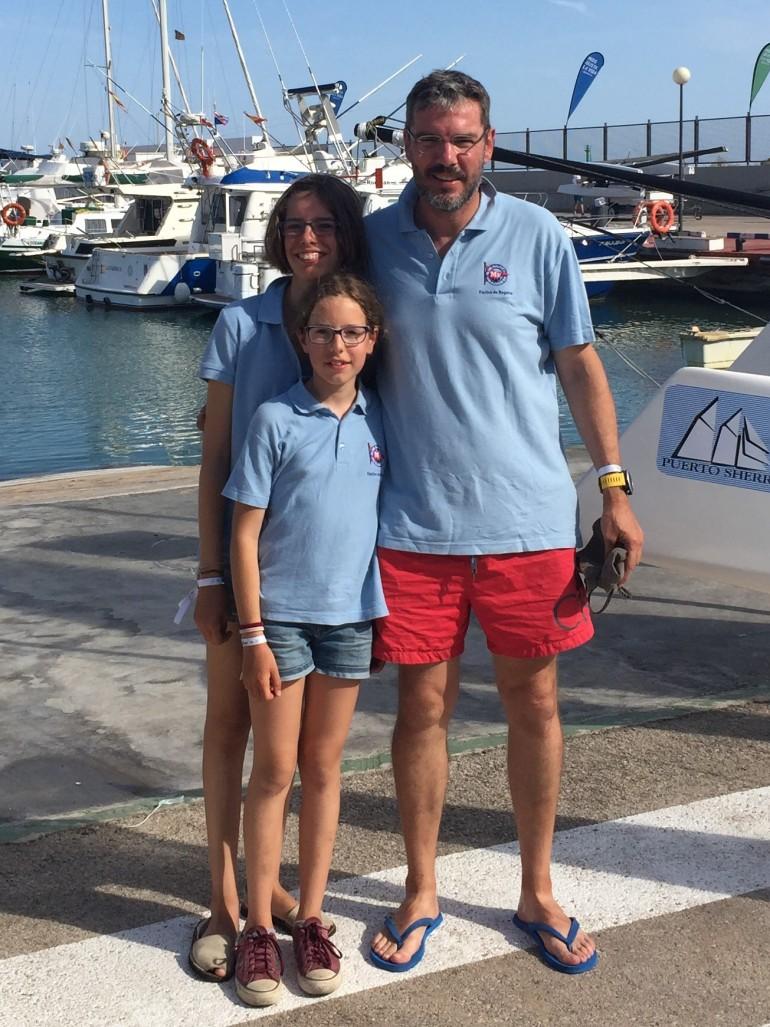 El equipo de regatas del CN Mar Menor termina en 4 posición en la Copa de España de Catamaranes 2017