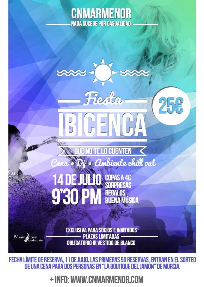 Fiesta ibicenca club n utico mar menor - Fiesta ibicenca ...