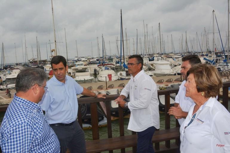 El Director General de Puertos ofrece una rueda de prensa en el CNMARMENOR