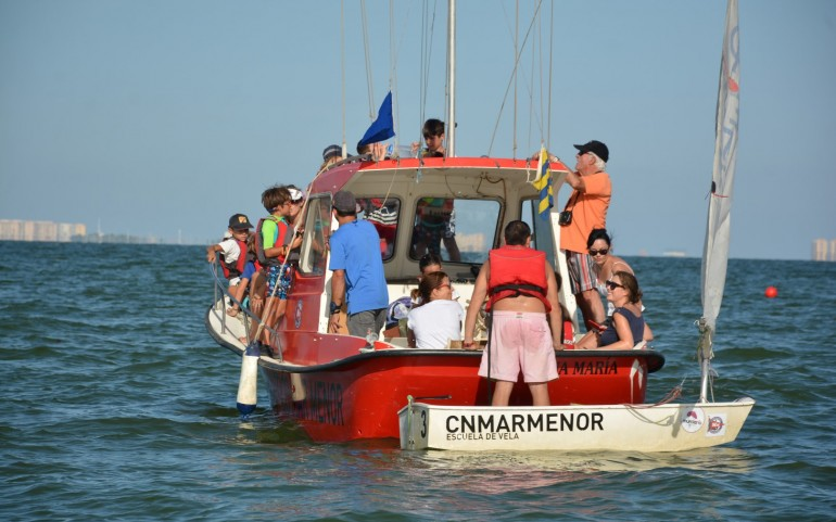 Divertida competición de Optimist (Fotos: José Mª Falgas)