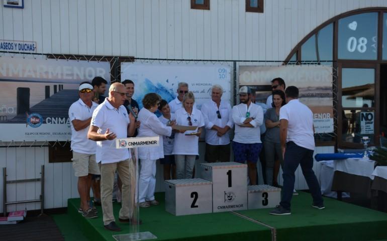 Entrega trofeos 1ª prueba del TAP – VI Memorial Marquesa Rozalejo