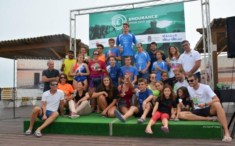 """El CNMARMENOR colabora en la prueba """"Endurance Swin Mar Menor"""" de natación"""