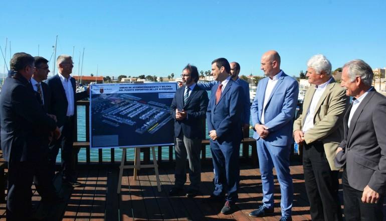La Comunidad saca a licitación la gestión y obras del puerto deportivo de Los Alcázares