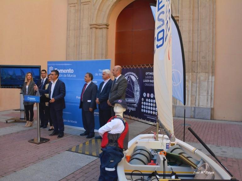 Puesta de largo en el MUBAM la XIV Regata ASTRAPACE a disputar en Los Alcázares