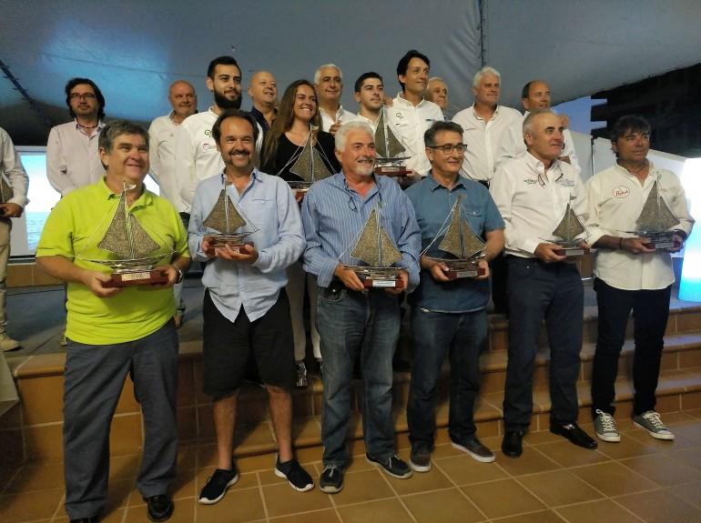 'Olimpia', 'Enewtec' y 'Resaca' ganan el primer Circuito Mar Menor de Cruceros