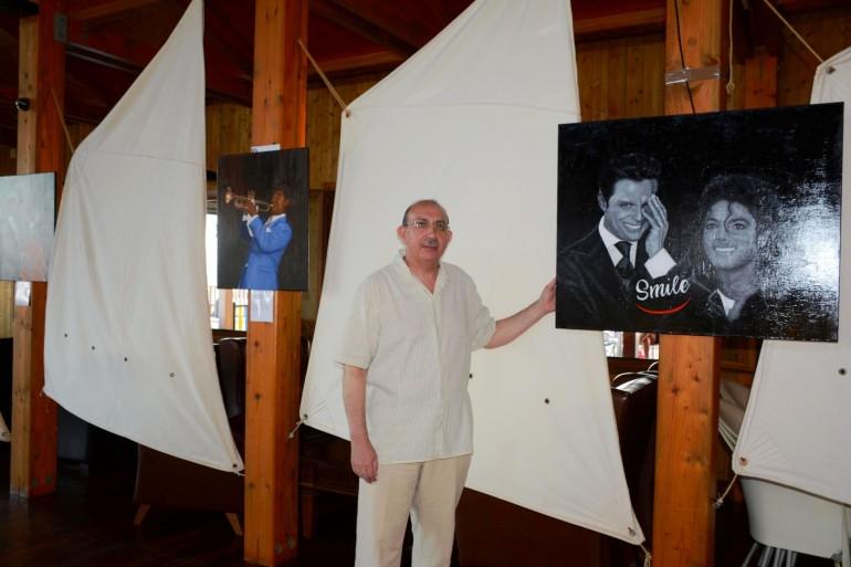 Gran exposición de pintura a cargo de Antonio Nicolás en el CN Mar Menor
