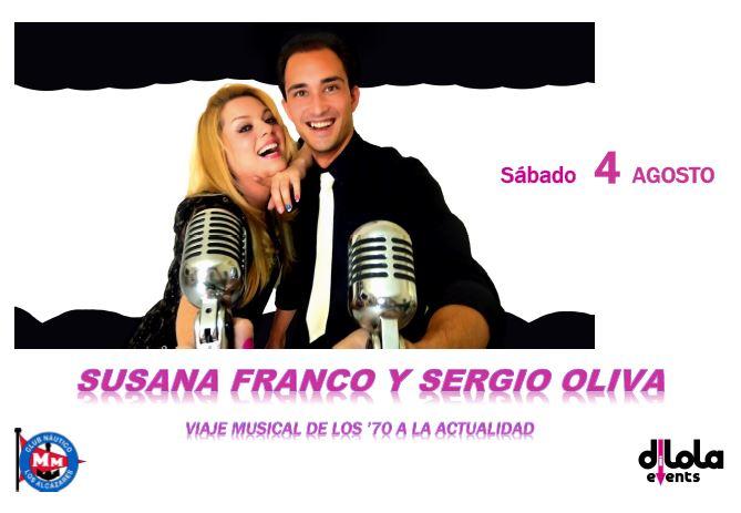 ACTUACIÓN SUSANA FRANCO y SERGIO OLIVA (Viaje a los 70)