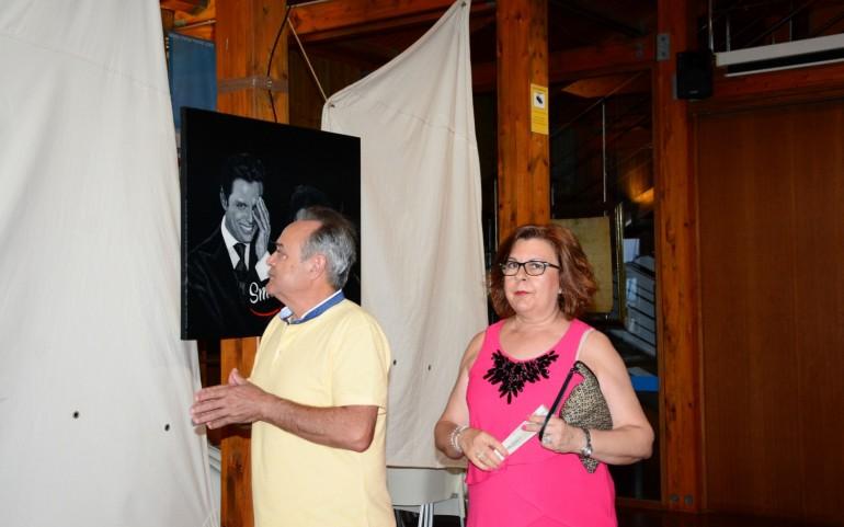 Exposición de pintura de Antonio Nicolás (Fotos: Eugenia Montesinos y Falgas)