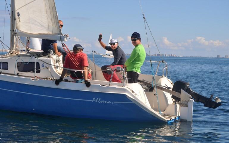 1ª prueba XXV Trofeo Carabela de Plata (Fotos: José Mª Falgas)