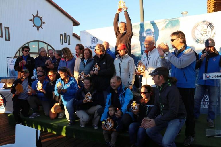 """Entregados los trofeos de la 1ª fase del Carabela de Plata """"G.P. DFM Rent a Car"""""""