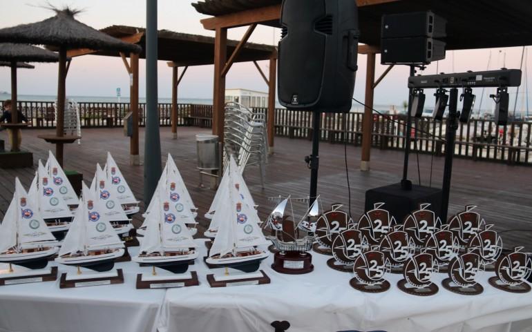 Entrega final de trofeos XXV Carabela de Plata con cena y música