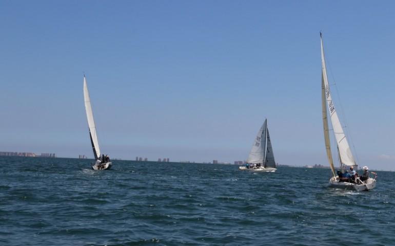 Última regata GP Ayto. y ganadores absolutos del XXV Carabela de Plata (Fotos: Falgas)