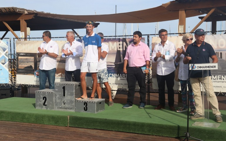 TAP en el CNMARMENOR de Los Alcázares – Entrega de trofeos (Fotos: María)