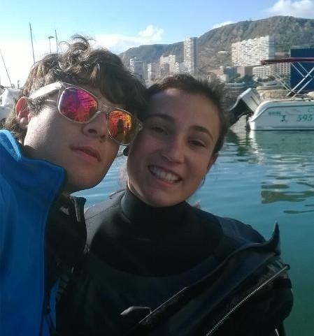 XLVII Semana naútica de Alicante, clase 420