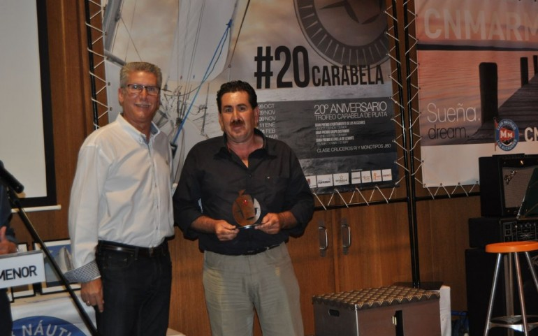 Entrega de trofeos XX CARABELA DE PLATA