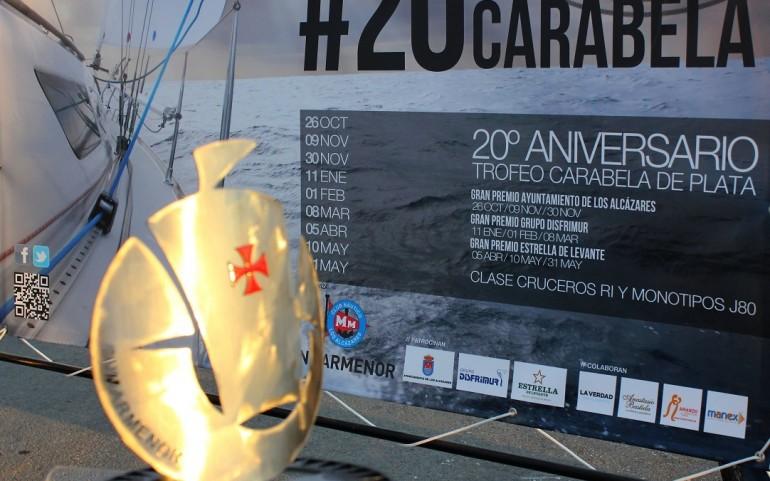 Cena de gala y entrega de trofeos a los ganadores del Carabela de Plata