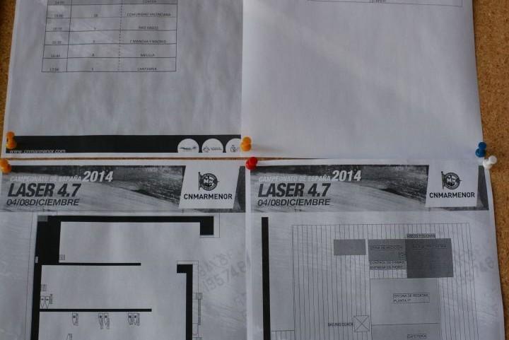 Fotos mediciones CAMPEONATO LASER 2014