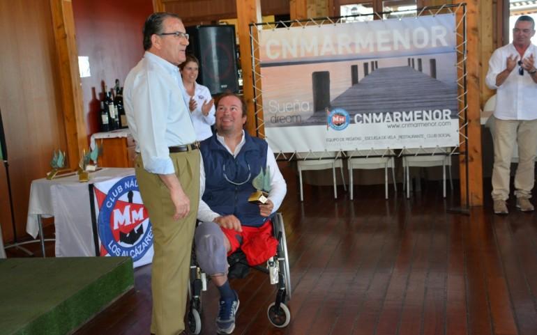 Entrega de Trofeos 1ª Prueba IV Circuito Iberdrola Vela Paralímpica Clase 2.4mR