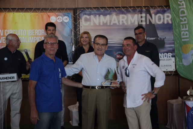 Entrega de Trofeos 1ª Prueba IV Circuito Iberdrola Vela Paralímpica Clase 2.4mR. FITPROJECT