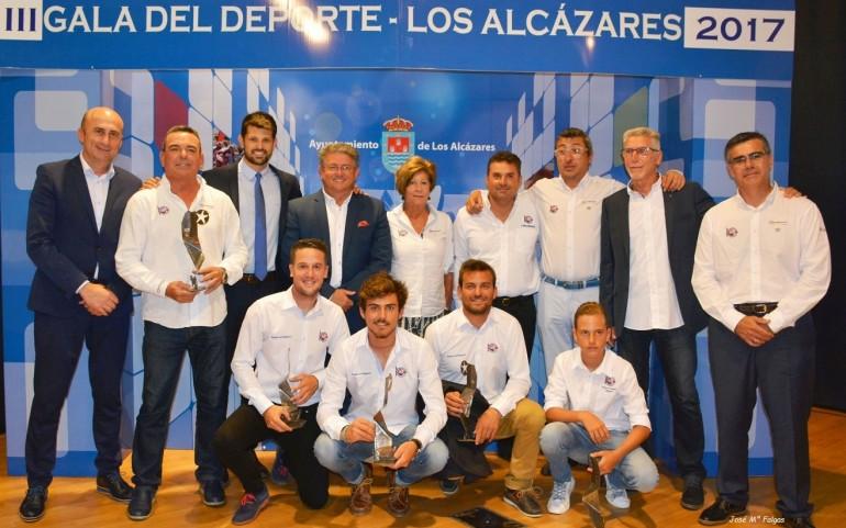 El CNMARMENOR super premiado en la Gala del Deporte 2017 de Los Alcázares