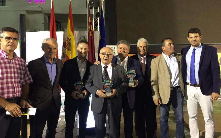 José Manuel Ruiz y el Ayto. de Los Alcázares distinguidos por la UFDRM