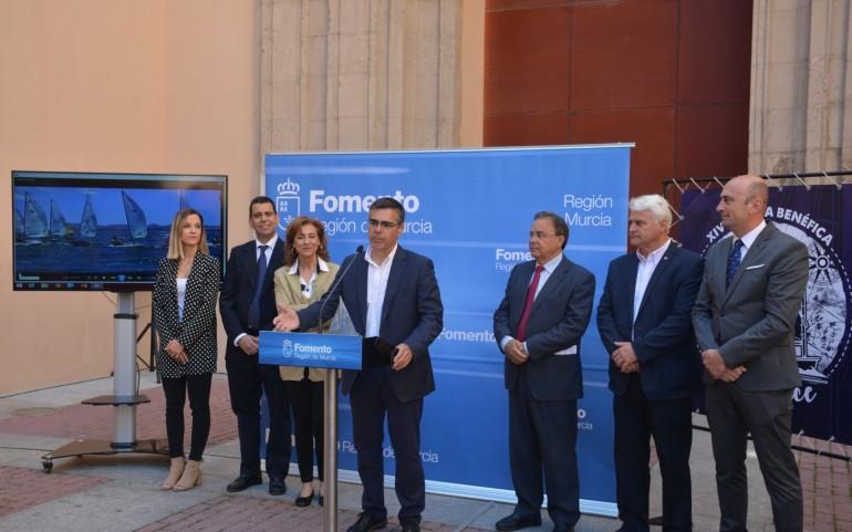 El consejero de Fomento presenta la XIV Regata ASTRAPACE 2018 (Fotos: J.Mª Falgas)