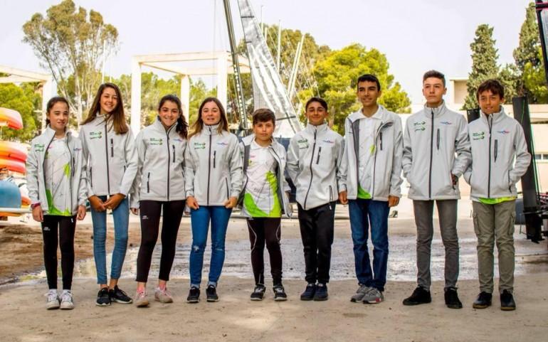 Optimist, Laser y Funboard en Campeonatos de España.