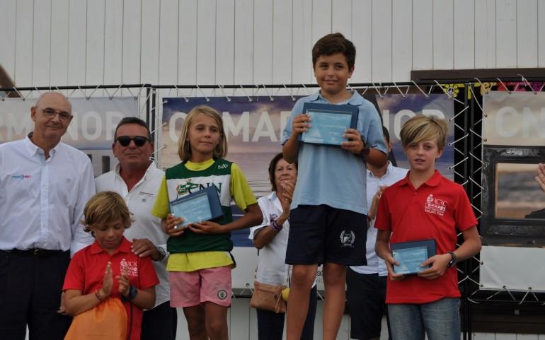 Entrega de trofeos del TAP CN Mar Menor (Fotos: Damián Martínez)