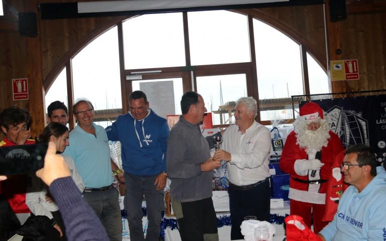 Regata del Turrón, entrega de trofeos y sorteo de regalos (Fotos Falgas y Toñi)