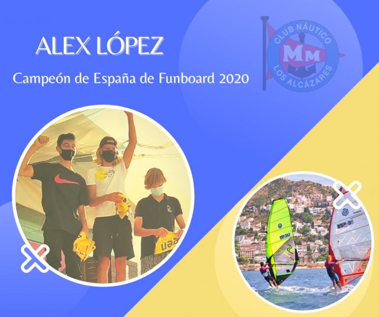Alex López campeón de España en Roses