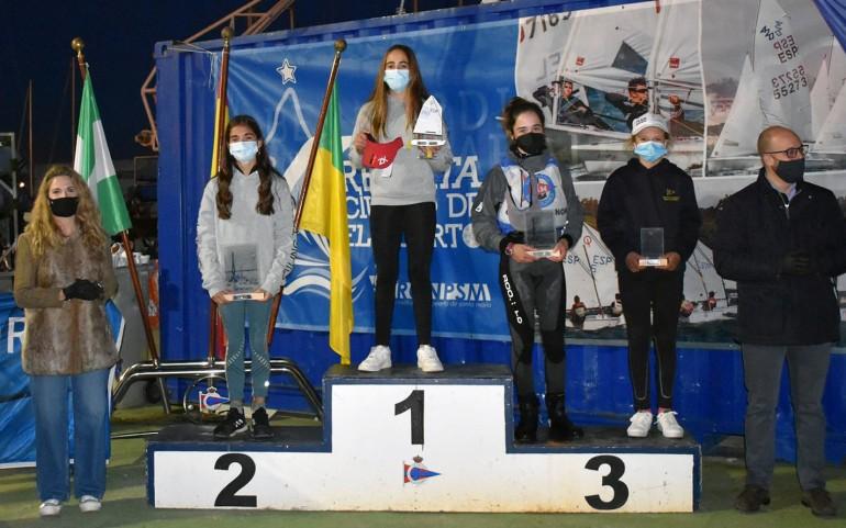 Triple podio en Cádiz