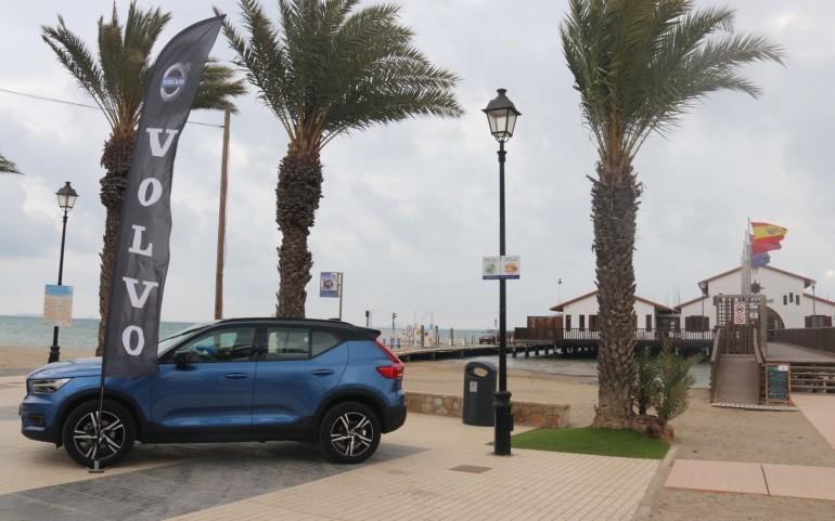 1ª Rgta. XXVII Tfº Carabela de Plata con fuerte viento (Fotos: José Mª Falgas)