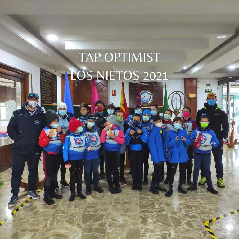 Destacada presencia de los Optimist en el primer TAP de 2021